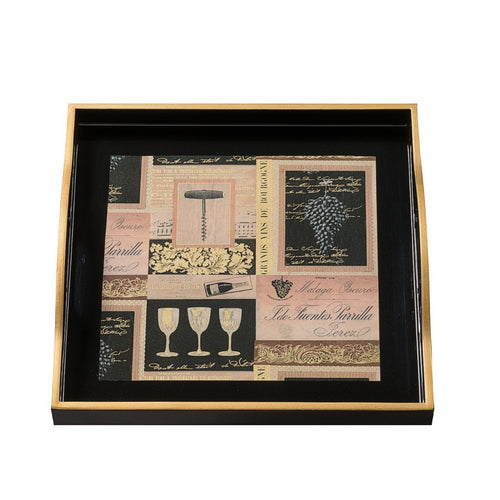 Vins De France Small Tray