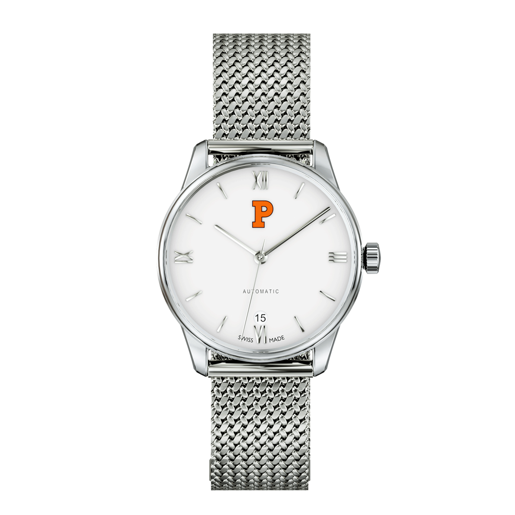 Axia Aletheia With White Dial and Mesh Strap