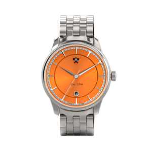 Axia Kairos 40mm With Orange Dial