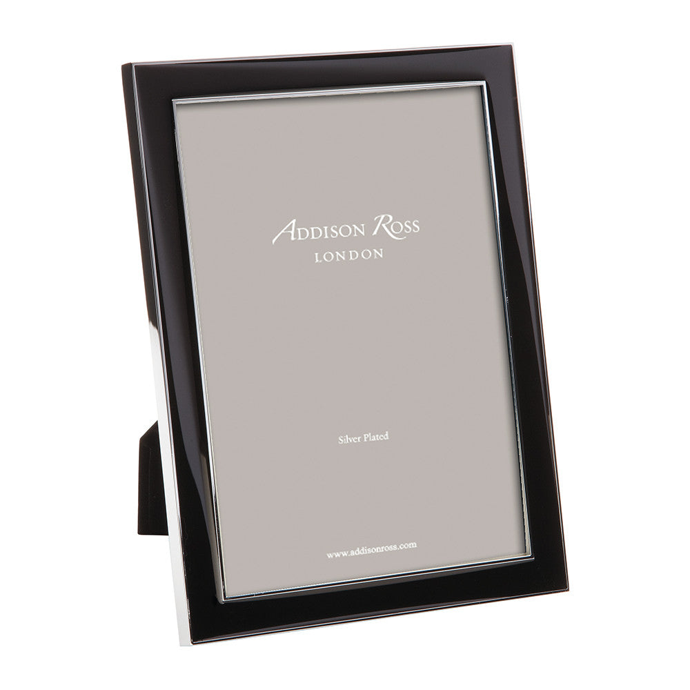 Addison Ross Black Enamel Frame 4x6