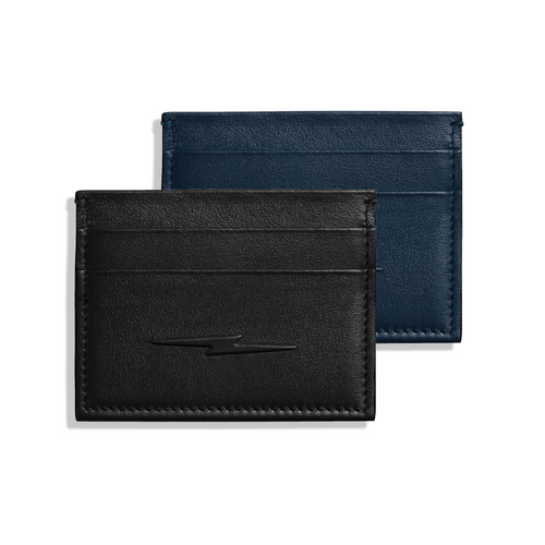 Shinola 5 Pocket Card Case with Bolt