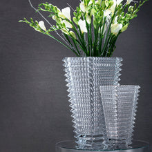 Load image into Gallery viewer, Baccarat Silver Eye Vase