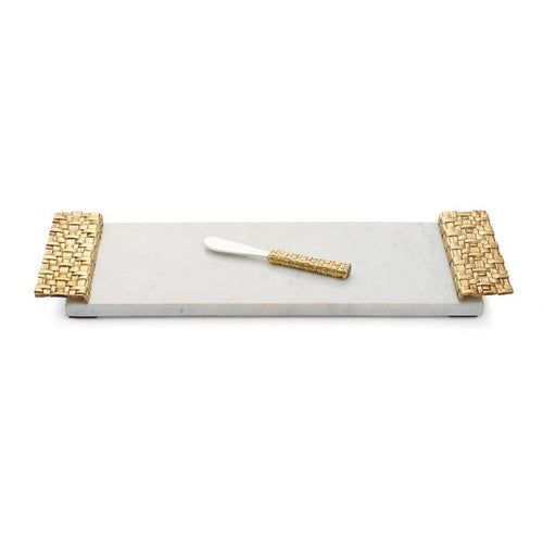 Michael Aram Palm Cheese Board w/ Spreader