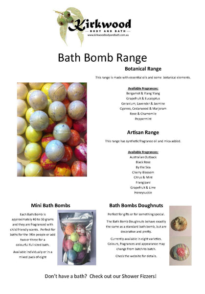 Distributor Only Flyers - Bath Bomb Flyer - 100