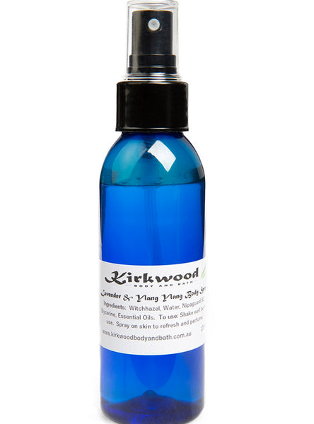 Body Mist - Bergamot and Eucalyptus