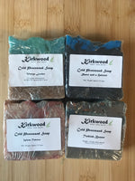Father's Day 4 Cold Process Soap Bundle