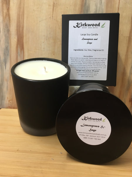 Large Soy Wax Candles