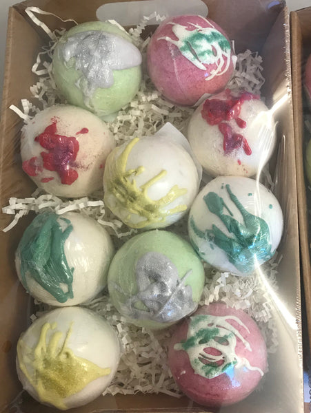 Christmas Bath Bombs