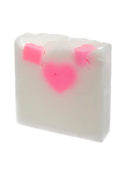 Glycerine Soap - Hearts and Flowers