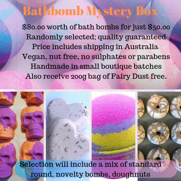 Bath Bomb Mystery Box - Limited Numbers