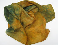 Hand Dyed Silk Wraps - 8 Colourways