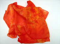 Hand Dyed Silk Scarves - 8 Colourways