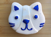 Soft Kitty Bath Bomb - Oud Amber and Musk