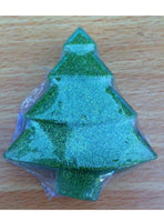 Wonky Glitter Christmas Tree - Green