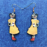 Otter Girl Earrings