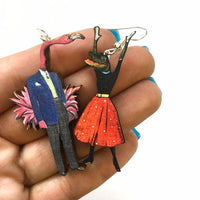 Mismatched Florida Earrings