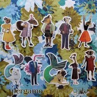 Animal Vinyl Stickers for Vintage Lovers www.pergamopapergoods.com