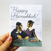 Hanukkah Ducks Card or Card Set