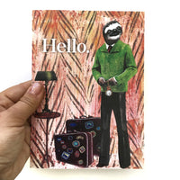 Sloth Man Greeting Card
