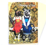 Dog and Cat Friends Card