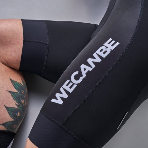 Black Trade Team Bib Shorts