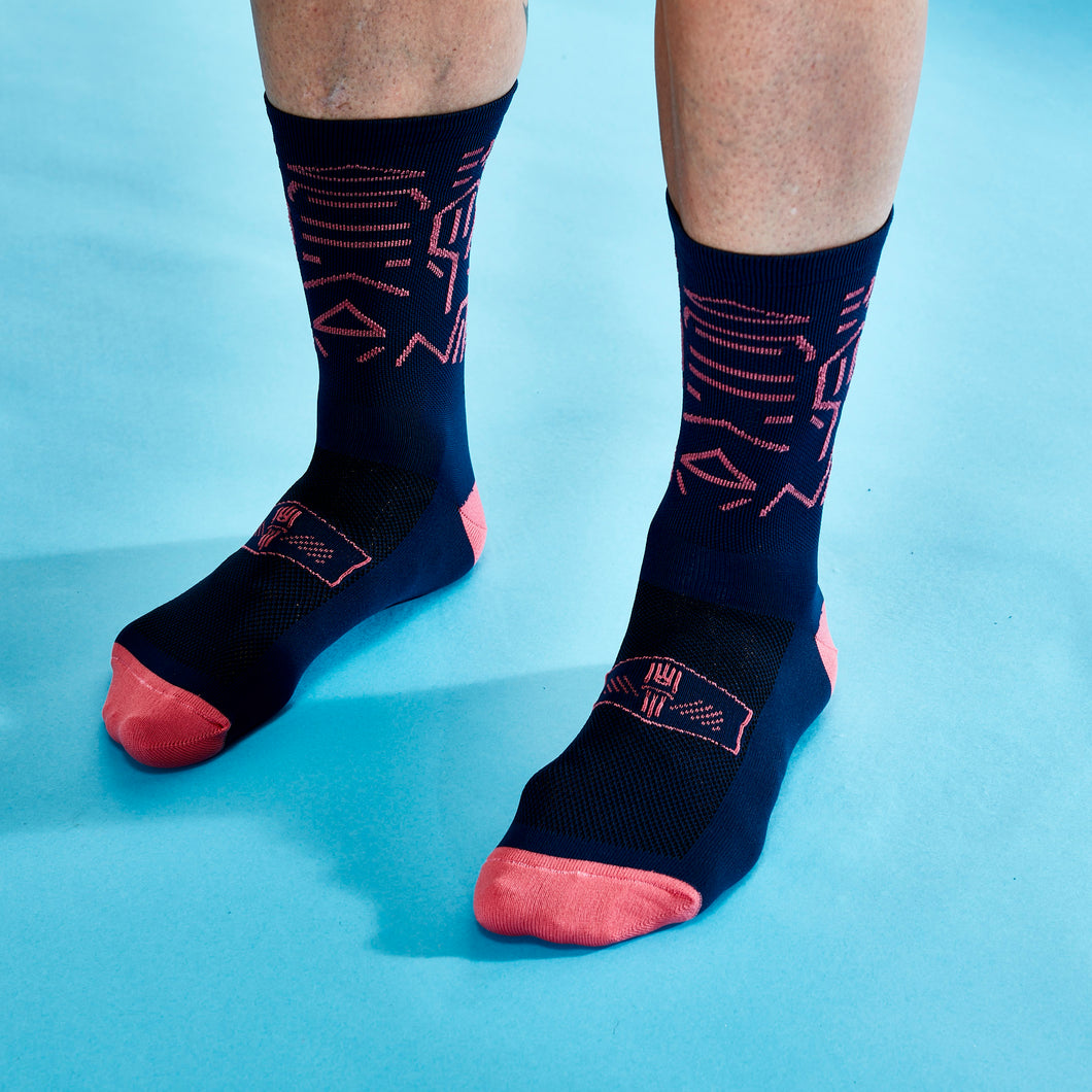 WCB x PSQ Collaboration Sock