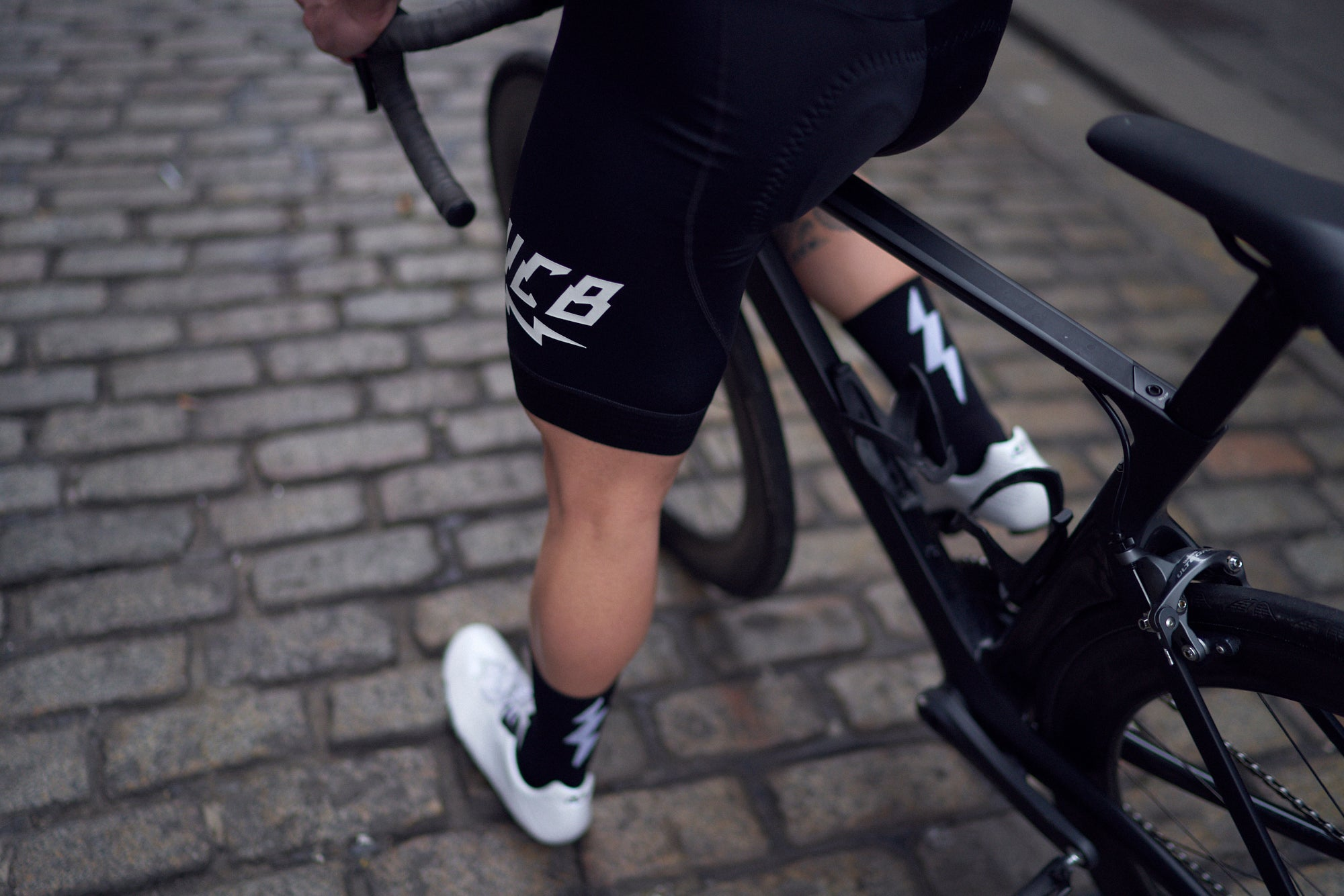 Pure Black Exemplar Bib Short