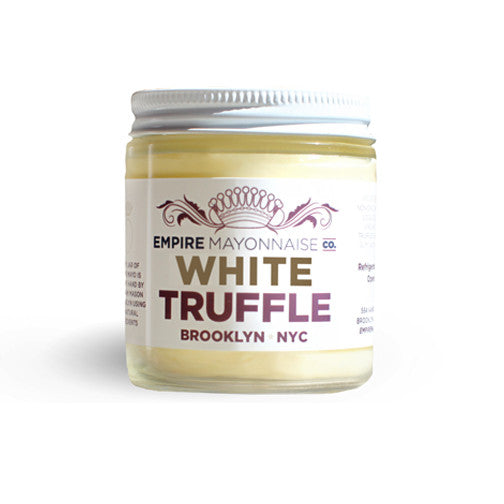 White Truffle Non-GMO Empire Mayonnaise hand-made in NYC