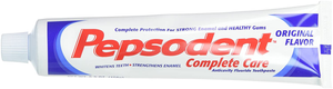 Pepsodent Complete Care Anticavity Fluoride Toothpaste, Original, 6 Count