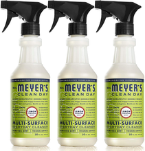 Load image into Gallery viewer, Mrs. Meyer's Clean Day Multi-Surface Everyday Cleaner, Lemon Verbena, 16 fl oz, 3 ct