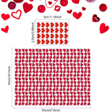 Load image into Gallery viewer, CHRORINE 45 Pcs Valentine's Day Tissue Paper, Gift Wrapping Tissue Paper,Sweet Heart Design Gift Wrap Paper,Big Size Gift Wrapping for Valentine's Day,Wedding, DIY Crafts Gift Decorations