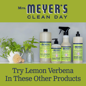 Mrs. Meyer's Clean Day Multi-Surface Everyday Cleaner, Lemon Verbena, 16 fl oz, 3 ct