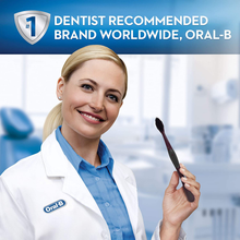 Load image into Gallery viewer, Oral-B Charcoal Toothbrush Whitening Therapy, Medium 2ct