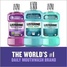 Load image into Gallery viewer, Listerine Total Care Anticavity Fluoride Mouthwash, 6 Benefit Mouthwash to Help Kill 99% of Germs that Cause Bad Breath, Prevent Cavities, Strengthen Enamel & More, Fresh Mint Flavor, 1 L