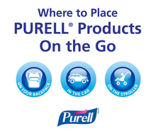 Load image into Gallery viewer, PURELL Advanced Hand Sanitizer Variety Pack, Naturals and Refreshing Gel, 1 fl oz travel size flip-cap bottle with JELLY WRAP Carrier (Pack of 8) - 3900-09-ECSC