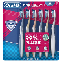 Load image into Gallery viewer, Oral-B Pro Health All In One Soft Toothbrushes, 6 Count