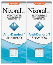 Load image into Gallery viewer, Nizoral Anti-dandruff Shampoo Value 7oz Twinpack, 14 Fl Ounce (20053076192630)