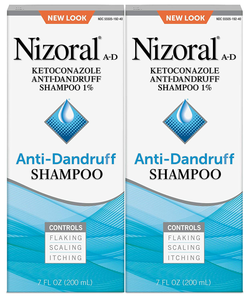 Nizoral Anti-dandruff Shampoo Value 7oz Twinpack, 14 Fl Ounce (20053076192630)