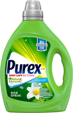 Load image into Gallery viewer, Purex Liquid Laundry Detergent, Natural Elements Linen & Lilies, 2X Concentrated, 220 Total Loads, 82.5 Fl Oz, Pack of 2