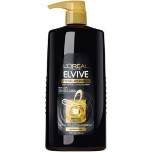 L'Oreal Paris Elvive Total Repair 5 Repairing Conditioner for Damaged Hair Conditioner with Protein and Ceramide for Strong Silky Shiny Healthy Renewed Hair 28 Fl Oz