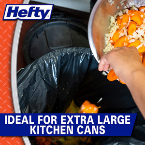 Hefty Strong Large Trash Bags, 30 Gal, 28 Count