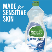Load image into Gallery viewer, Seventh Generation Dish Liquid Soap, Free & Clear, 25 Oz, Pack of 6