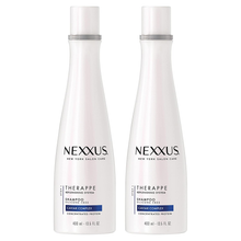 Load image into Gallery viewer, Nexxus Therappe Shampoo for Dry Hair Ultimate Moisture Silicone-Free 13.5 oz 2 Count
