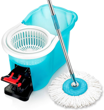Load image into Gallery viewer, Hurricane Spin Mop Home Cleaning System by BulbHead, Floor Mop with Bucket Hardwood Floor Cleaner