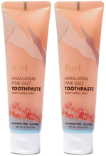 Load image into Gallery viewer, Rael Himalayan Pink Salt Toothpaste - Natural, Vegan, Paraben-Free, Anti-Cavity, Fresh Breath, Oral Care, Fresh Soothing Mint, 240g (Tube)