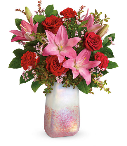 Pretty in Quartz - Valentine's Day Flowers