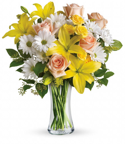 Daisies and Sunbeams Floral Arrangement