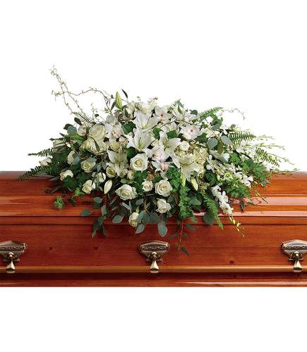Grandest Glory Casket Spray - Sympathy and Funeral Flowers