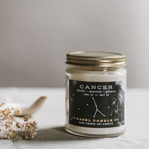 Vessel Candle Co. Cancer Zodiac Soy Candle