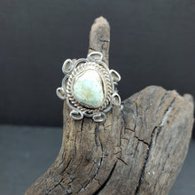CLEARANCE Sterling Silver Dry Creek Turquoise Ring Size 6.5